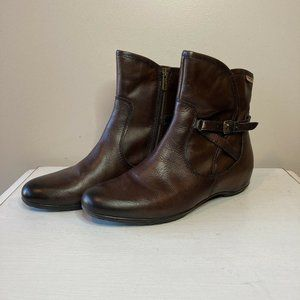Pikolinos Brown Ankle Boots Womens Size 10.5-11